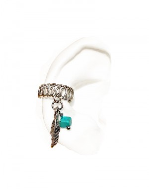 Tribal - Oxidized Ear Cuffs Gold or Silver