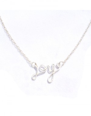 Joy pendant sterling silver necklaceearlums joy pendant sterling silver necklace aloadofball Gallery