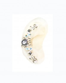Adele - Ear Cuff Wrap with Center Jewel