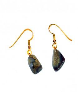 Healing Stones - Nat Agate Earrings