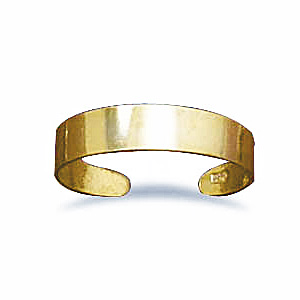 Gold Plated Toe Ring