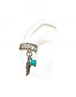 Tribal - Oxidized Ear Cuffs Gold or Silver