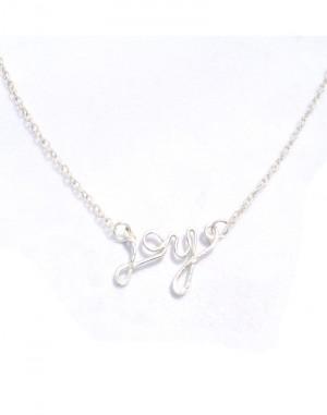 Joy pendant sterling silver necklaceearlums joy pendant sterling silver necklace aloadofball Gallery