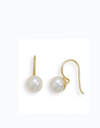Classic Faux Pearl Earrings,bridal earrings, cheap earrings, pearl earrings | Earlums.com