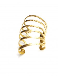 Anza - Hand Forged(hammered) Gold or Silver Ear Cuffs
