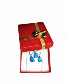 Healing Stones - Turquoise Howlite Set