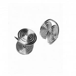 "Keloid Pressure Earrings ""Aaron"" Handmade Wire Wrapped"