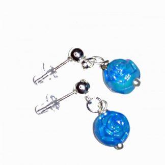Blue Studs Earring Set