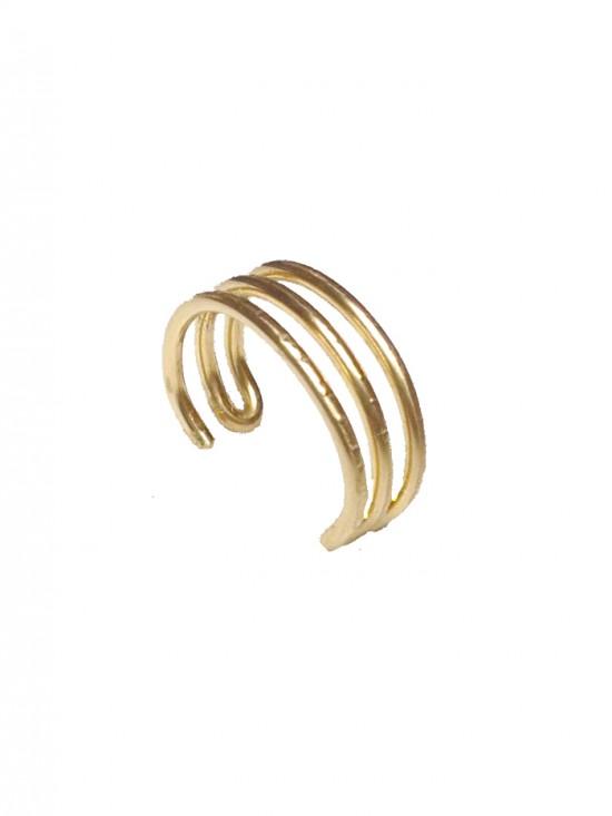 Trio-ear cuff, jewelry, earrings, ear cuffs, ear cuff, earring, ear jewelry, pierceless earring