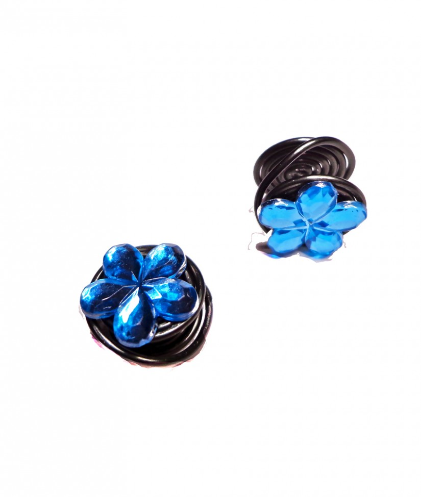 compression earrings flower compression pressure keloid clip on earringsearlums 1624