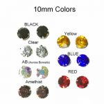 Keloid Magnetic Earrings  Colorful  Choices 10mm  Round Disc Magnetic Earrings