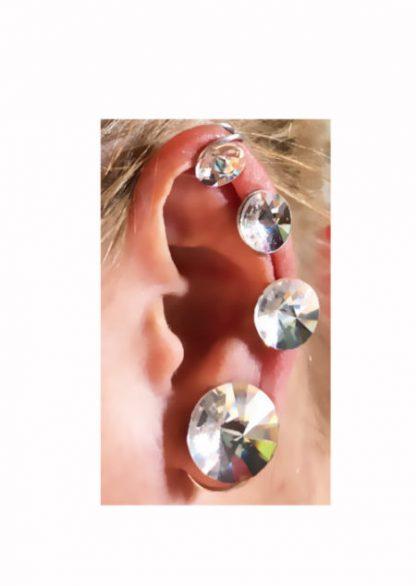 Ear Lobe Keloid Earrings